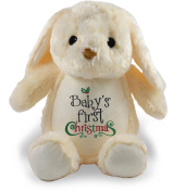 Baby's First Christmas, Ivory Bunny