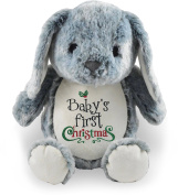 Baby's First Christmas, Grey Bunny