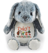 Baby's First Thanksgiving, Grey Bunny