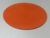 SILICONE RUBBER PAD 30cm ROUND DISC GASKET MATERIAL HEAT ABSORBENT jewellery & DRUM