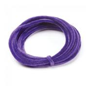 FloristryWarehouse Florist's Wire Chenille Purple 5m