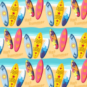 Best Wrapping Paper Surfing Sports With Beach And Sea Background Wrapping Paper