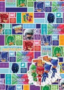 PJ Masks 2 Sheets Of Gift Wrap And 2 Gift Tags