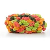 Celine lin Big Ball Thick Scarf Yarn Baby Blanket Yarn Sofa Cushion Coarse Hand Crocheting Yarn,150g,Multicolored016