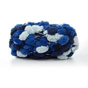 Celine lin Big Ball Thick Scarf Yarn Baby Blanket Yarn Sofa Cushion Coarse Hand Crocheting Yarn,150g,Multicolored020
