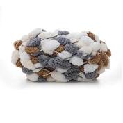 Celine lin Big Ball Thick Scarf Yarn Baby Blanket Yarn Sofa Cushion Coarse Hand Crocheting Yarn,150g,Multicolored009