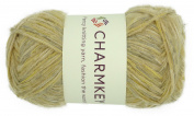 Chamkey Premium Wool Yarn 3 Light Environmental Wool Cotton Nylon Acrylic Blend Luxury 8 Ply Knitting Yarn Multicolor Thread for Summer Autumn Fashion Clothing, 1 Skein, 100ml