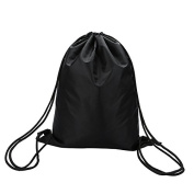 Drawstring Bag,Waterproof Drawstring Backpack Gym Bag By Sunshine D Perfect For Sports, Beach Holidays, Swimming, School Adults & Children