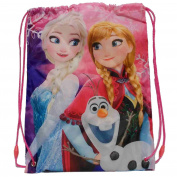 Disney Frozen PE Gym Sport Swim Bag Officially Licensd! 43 x 32 cm