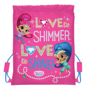 Shimmer and Shine Trainer Bag Gym Tote, 42 cm, Pink