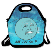 Uranus Planet Are You Ok Polyester Lunch Bag