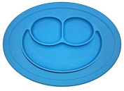 D & G Dangi kids meal feeding Baby Silicone Placemat & Plate, All-in-one