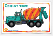 Good Glue Cement Truck Placemat