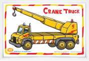 Good Glue Crane Truck Placemat