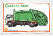Good Glue Garbage Truck Placemat