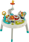 Fisher-Price 2-in-1 Sit to Stand Activity Centre, Spin 'n Play Safari