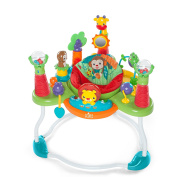 Bright Starts Explore & Roar Lights and Sound Activity Jumper with 3 Easy Height Adjustments