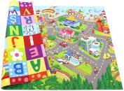 Baby Care Play Mat Zoo Town -Medium