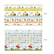 Parklon Play Mat Frankie Friends Playmat Baby Soft Mat Living Room Mat Rug Double Sided Design 250x140x1.5CM