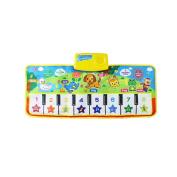 MonkeyJack Baby's Touch Play Keyboard Musical Singing Gym Carpet Mat Baby Gift - #4