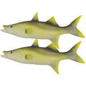 2Pcs- Fake Tuna Fish Artificial Sea Fish Model Lifelike Fake Fish Home Party Display Kids Toy