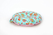 Pello Multi-use Luxe Baby-Toddler Floor Pillow/Play Mat/Lounger, Chloe/Pink