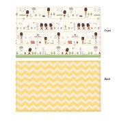Parklon Play Mat Little Soldier Baby Playmat Baby Soft Mat Living Room Mat Rug Double Sided Design 235x140x1.5CM