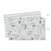 Parklon Play Mat Saint Grey Baby Playmat Baby Soft Mat Living Room Mat Rug Double Sided Design 235x140x1.5CM