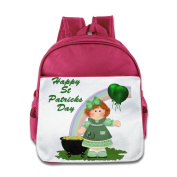 MYKKI Happy St. Patrick's Day Children Cool Lunch Bag RoyalBlue