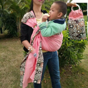 Kayhoma Baby Ring Sling Wrap Carrier Front and Back Suitable for Newborns to 20kg Nursing Breastfeeding Cover Baby Holder
