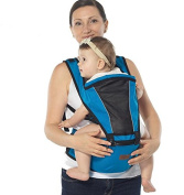 Baby Carrier - Advanced Lumbar Support, 2 in 1 Ultra Comfort & Ergonomics, 4 months . SALE--blue