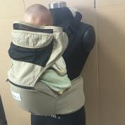 Bebemooi® 2 in 1 Baby Hip Seat Hugger Cotton Carrier for Toddler - Black, Brown,Dark Green, Khaki