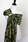 Bibetts 'Camo Green' Ring Sling Baby Carrier