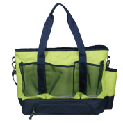 MePack Large Mommy Nappy Tote Bag, With Baby Changing Pad, Insulated Full Main Compartment Bright Colour