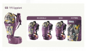 Ergonomic Design Orga Baby Carrier with Hip Seat Carrying Positions, Front, Backpack, and Kangaroo, Perfect for Infant & Toddler, Best Baby Shower Gift! Eggplant