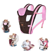 TheFashionWay Multifunction Baby Hipseat Carrier Breathable and Comfortable Infant Sling Backpack