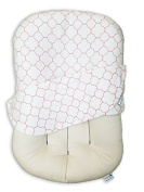Snuggle Me Organic Pure | 100% Organic Co-Sleeping Baby Bed, Infant Lounger, Portable Crib and Bassinet Mattress Pad for Newborn To 6 Months - CNT SHEEP