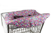 Itzy Ritzy Sitzy Shopping Cart and High Chair Cover, Posy Pop, Multi