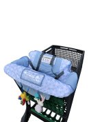 2 in 1 Baby shopping Cart Cover for supermarket or restaurant chair, choose your colour! …