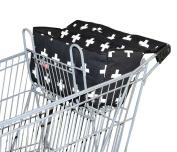 Bambella Designs Shopping Cart Liner - Black Crosses