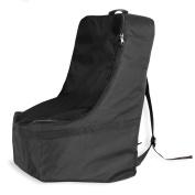 KHOMO GEAR Car Seat Travel Bag, Black, Universal