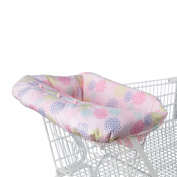Versatile Cosy Cart Cover in Pink Floral