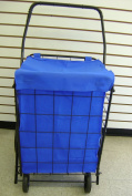 SHOPPING CART LINER insert (Blue) WATER PROOF with cover by RoyalCraft TM