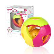 Huanger Baby Developmental Sensory Activity Rattle Ball