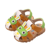 Vovomay Summer Toddler Kids Baby Boys Shoes With Flashing Lights Sandals Cartoon Shoes