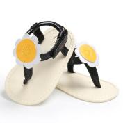 Vovomay Baby Girl Summer Flower Girls Flip Flops Beach Sandals Toddler Walkers