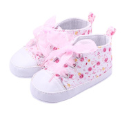 TRENDINAO Baby Toddlers Girls Floral Printed Soft First Walker Shoes