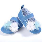 Besde Baby Toddler Sole Crib Walkers Anti-slip Prewalker Girl Newborn Shoes