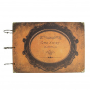 Pictures Our Story Diy Handmade Photo Album Vintage Albums Scrapbook 30pcs 120 Photos De Fotos Scrapbooking Paper Valentine's Gift