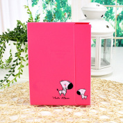 Rose Photo Album Diy Kits Baby Creative Family Newborn Gifts Lovers Memory Picture Albums 40 Photos